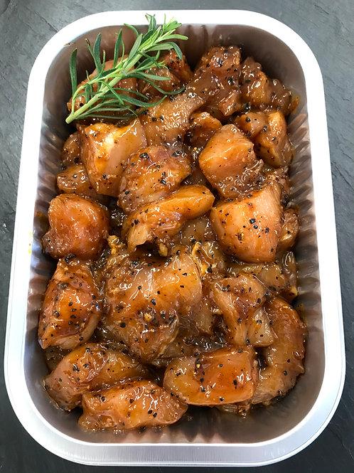 Black Garlic Chicken Stir Fry