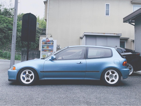 1993 HONDA CIVIC SiR