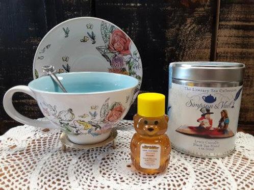 Alice in Wonderland Cup & Saucer Set