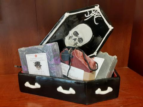Artisan Handmade Soaps Set - Coffin