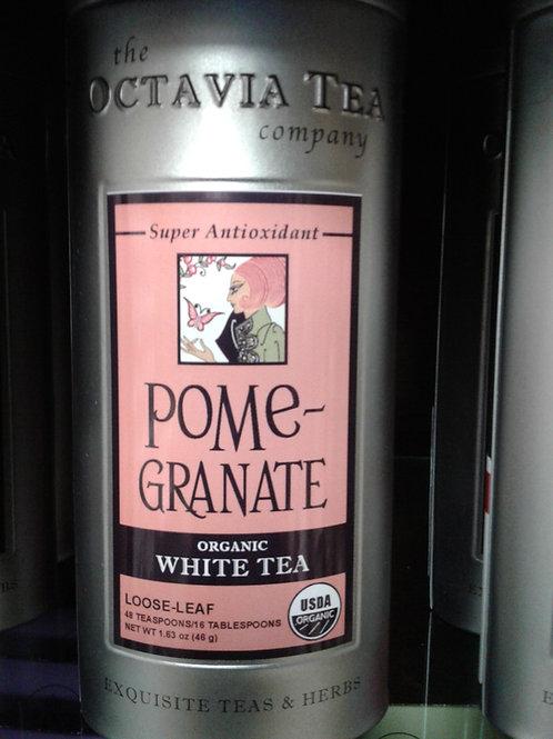 Pomegranate Organic White Tea