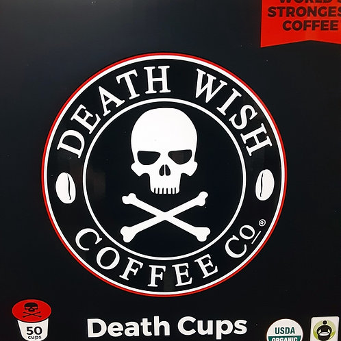 50 Death Wish Death Cups Coffee