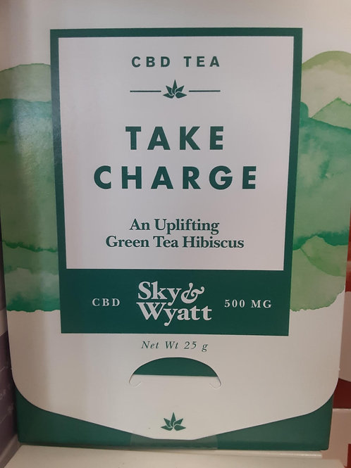 Sky & Wyatt Take Charge CBD Tea