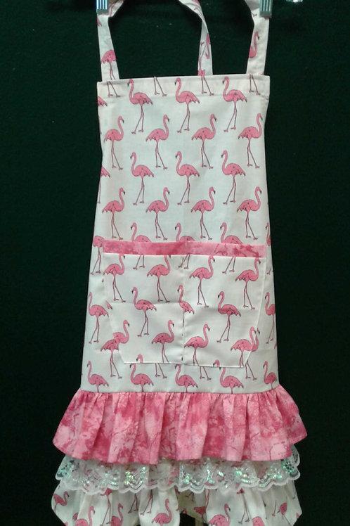 Pink Flamingos Apron