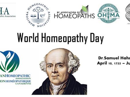 Happy Birthday Dr.Samuel Hahnemann