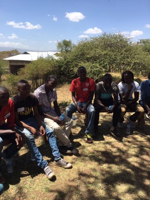 Olrongai Stars enjoying training