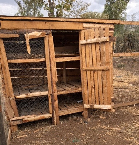 More 'accommodation' for more chickens...