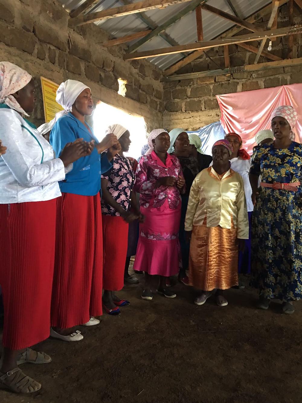 Church ladies choir