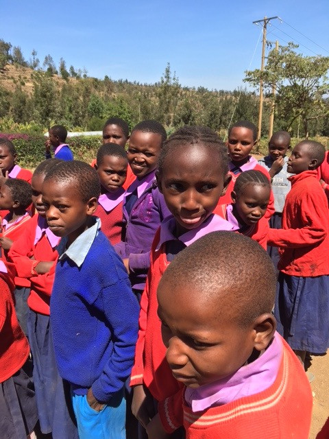 Pupils at Gathima