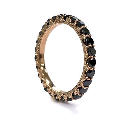 Anello Eternity Black