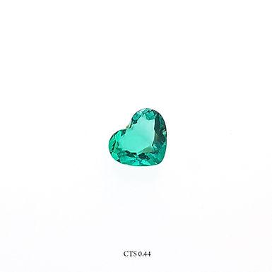 SMERALDO CUORE CT:0,44 MM:5X6