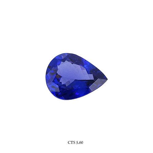 TANZANITE GOCCIA CT:5,6 MM:14X10