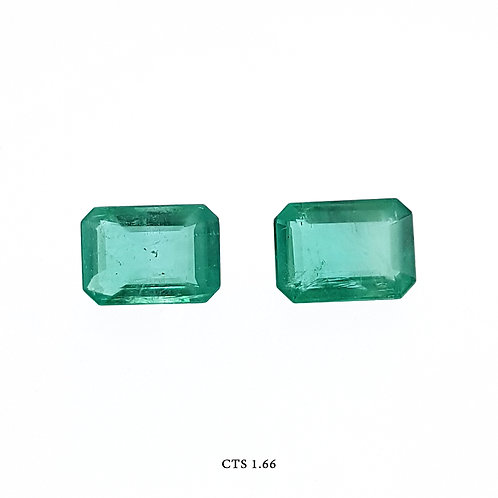 SMERALDO OTTAGONALE CP CT:1,66 MM:7X5