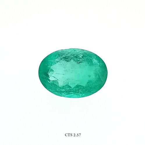 SMERALDO OVALE CT:2,57 MM 10X7
