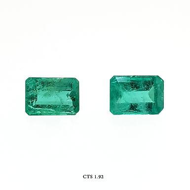 SMERALDO OTTAGONALE CP CT:1,92 MM 7X5