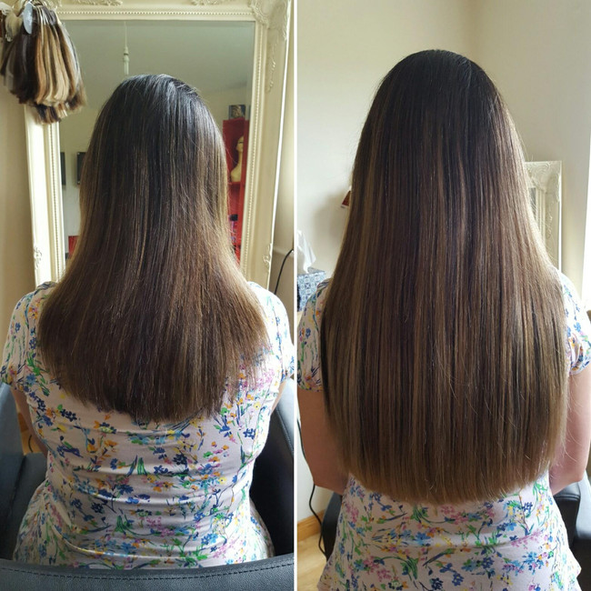 Full Head Clip-in Hair Extensions