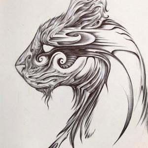 - Cat doodle -