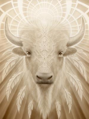 - White Light Buffalo -
