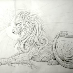 - Lion King drawing -