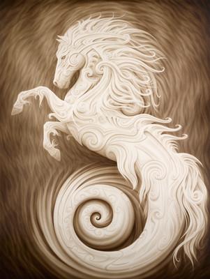 - Poseidon's Stallion -