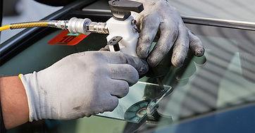 ремонт скола на лобовом стекла
