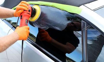 как полировать автостекло