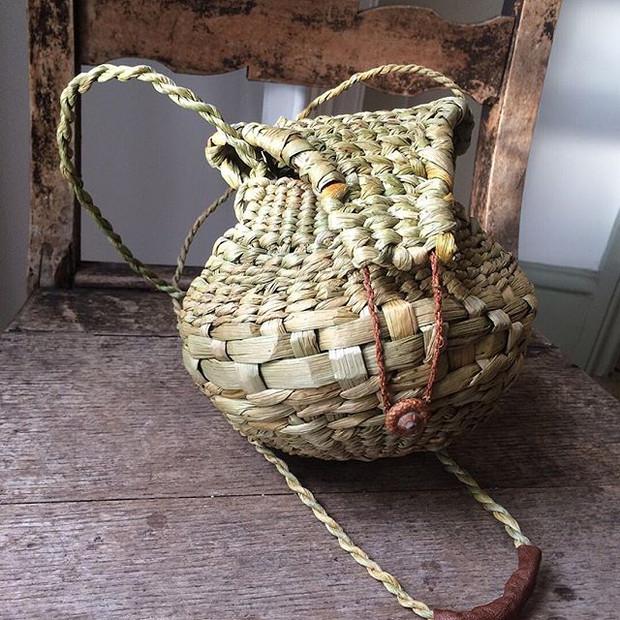 Rush baskets