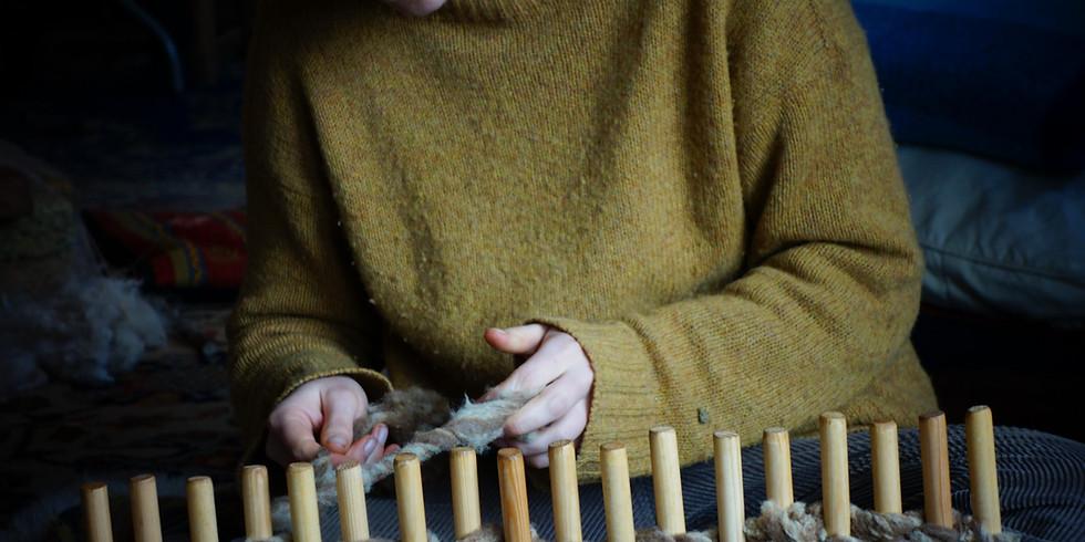 Weaving and Dreaming Spring Retreat at The GooseBarn, Cornwall