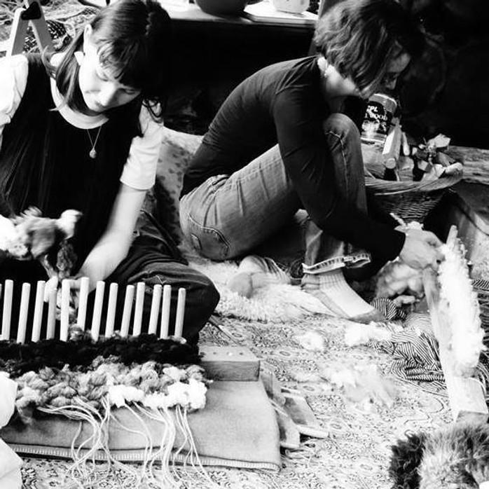 Winter Weaving & Dreaming Workshop at Potager Garden