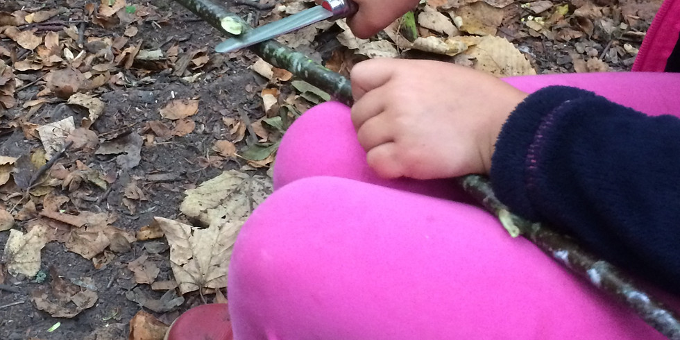 March TIDE Forest School Session
