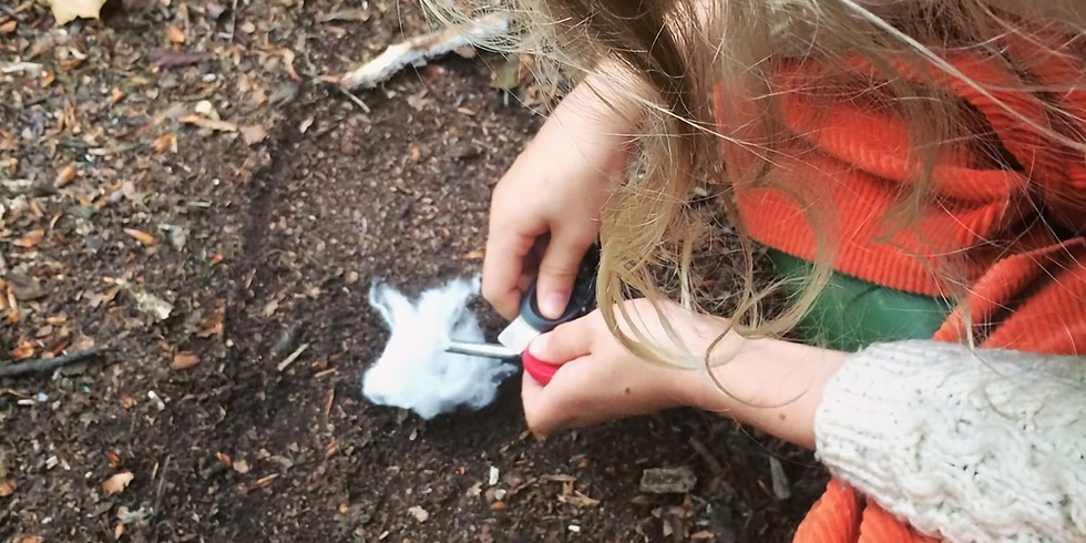 TIDE Forest School Autumn block of 3 sessions