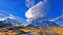 torres del paine patagonie-condors-torre