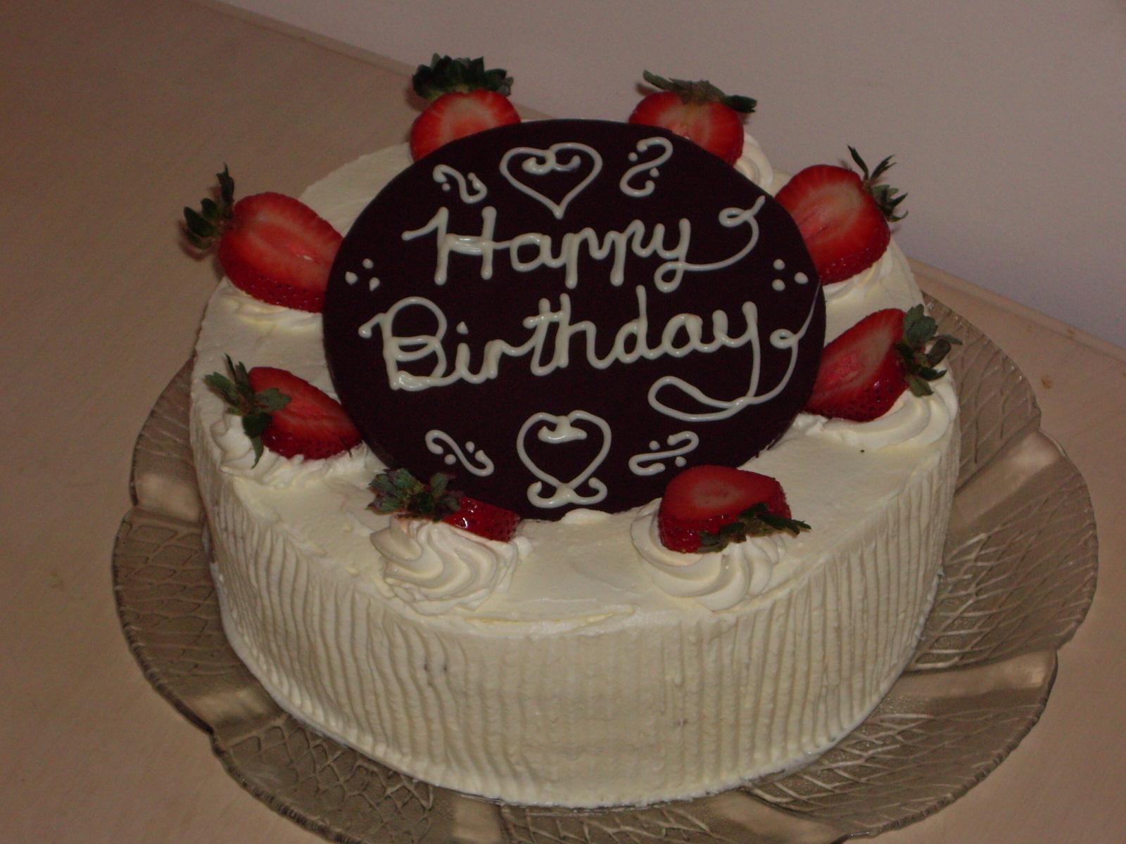 Basic Birthday Cake