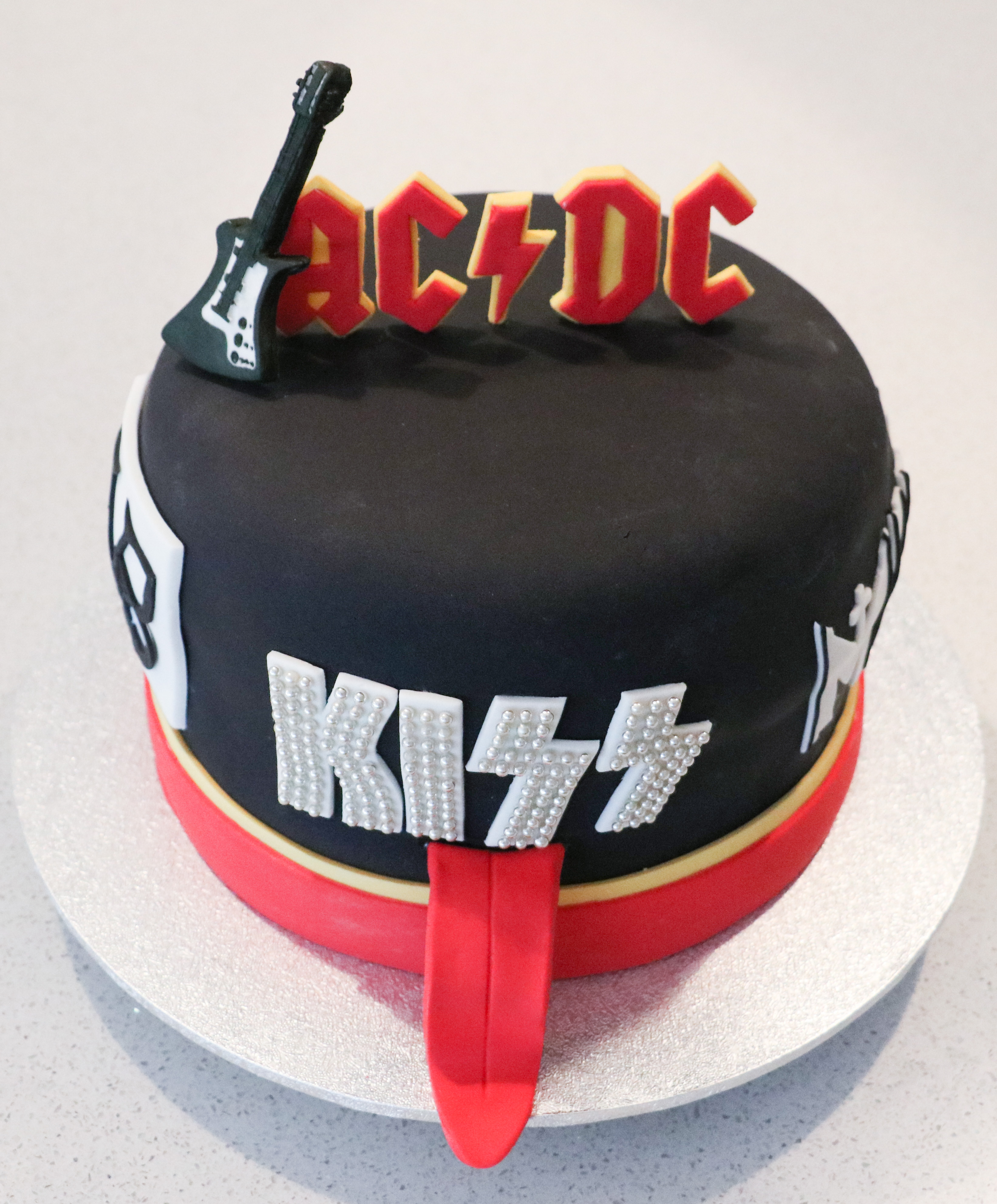 Favourite Band Cake
