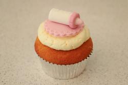 Baby Bottle Cupcake