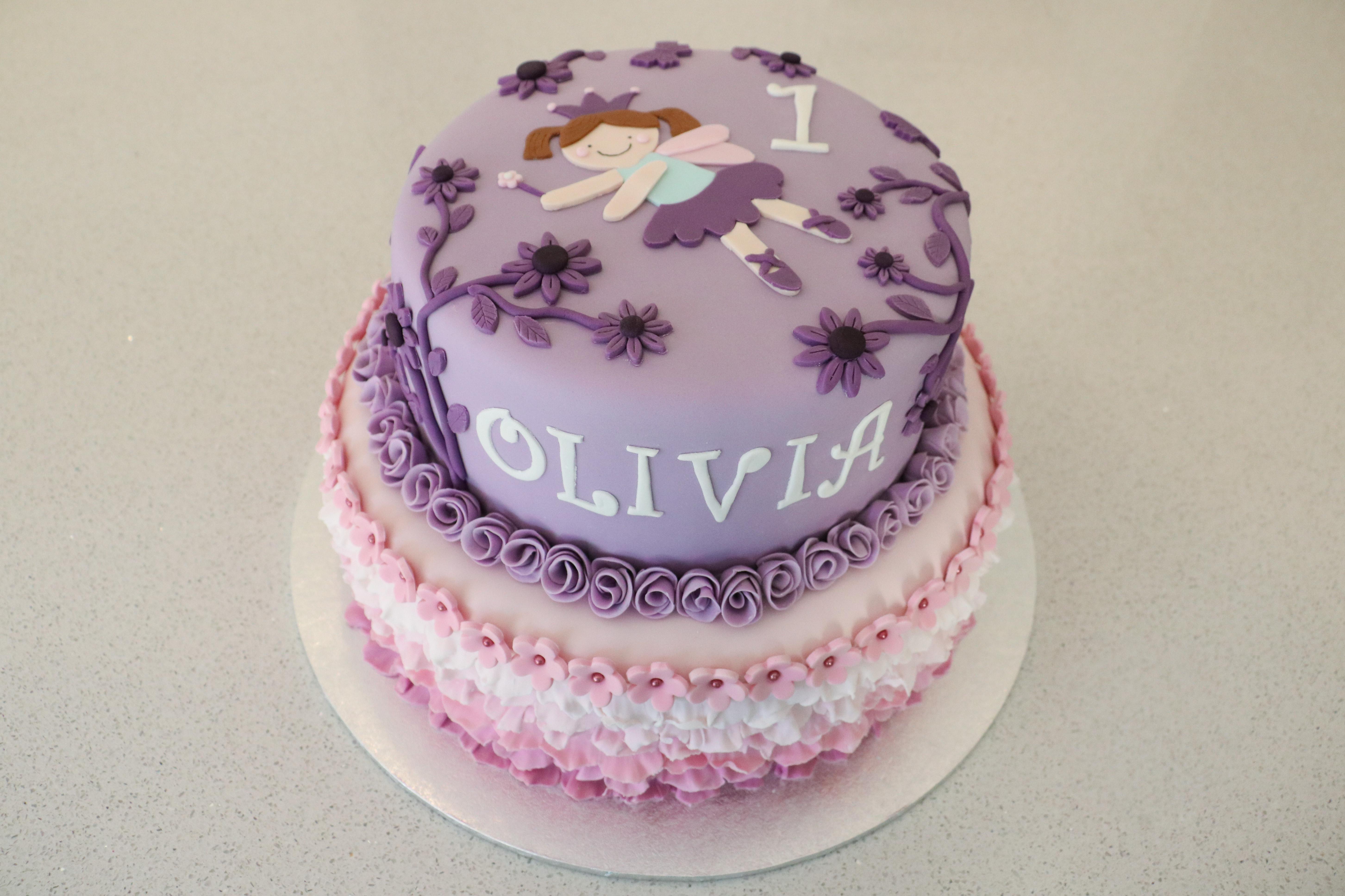 Deluxe 1st Birthday Cake