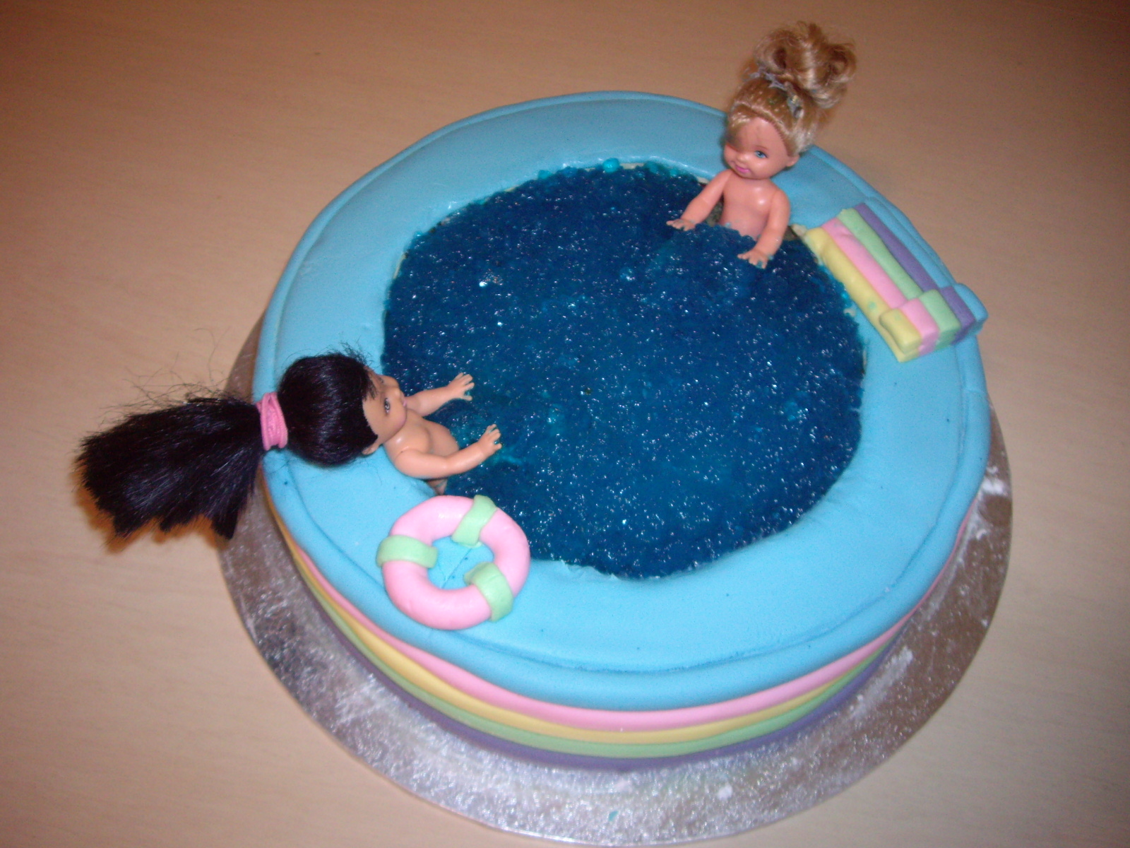 Pool Party Cake 2