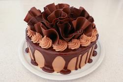Double Choc Drip Cake