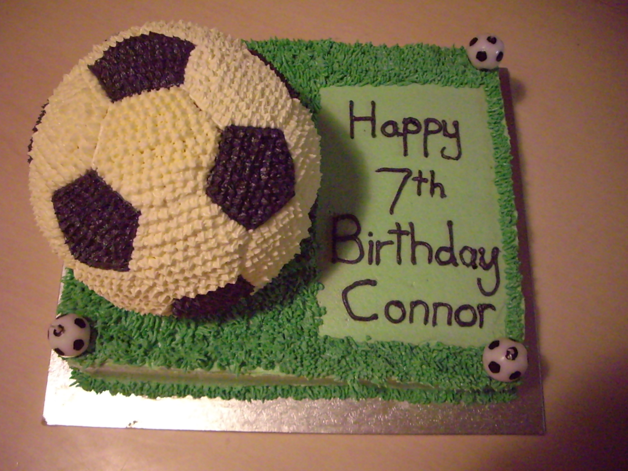 Crazy About Soccer Cake
