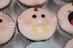 Dummy Baby Cupcake