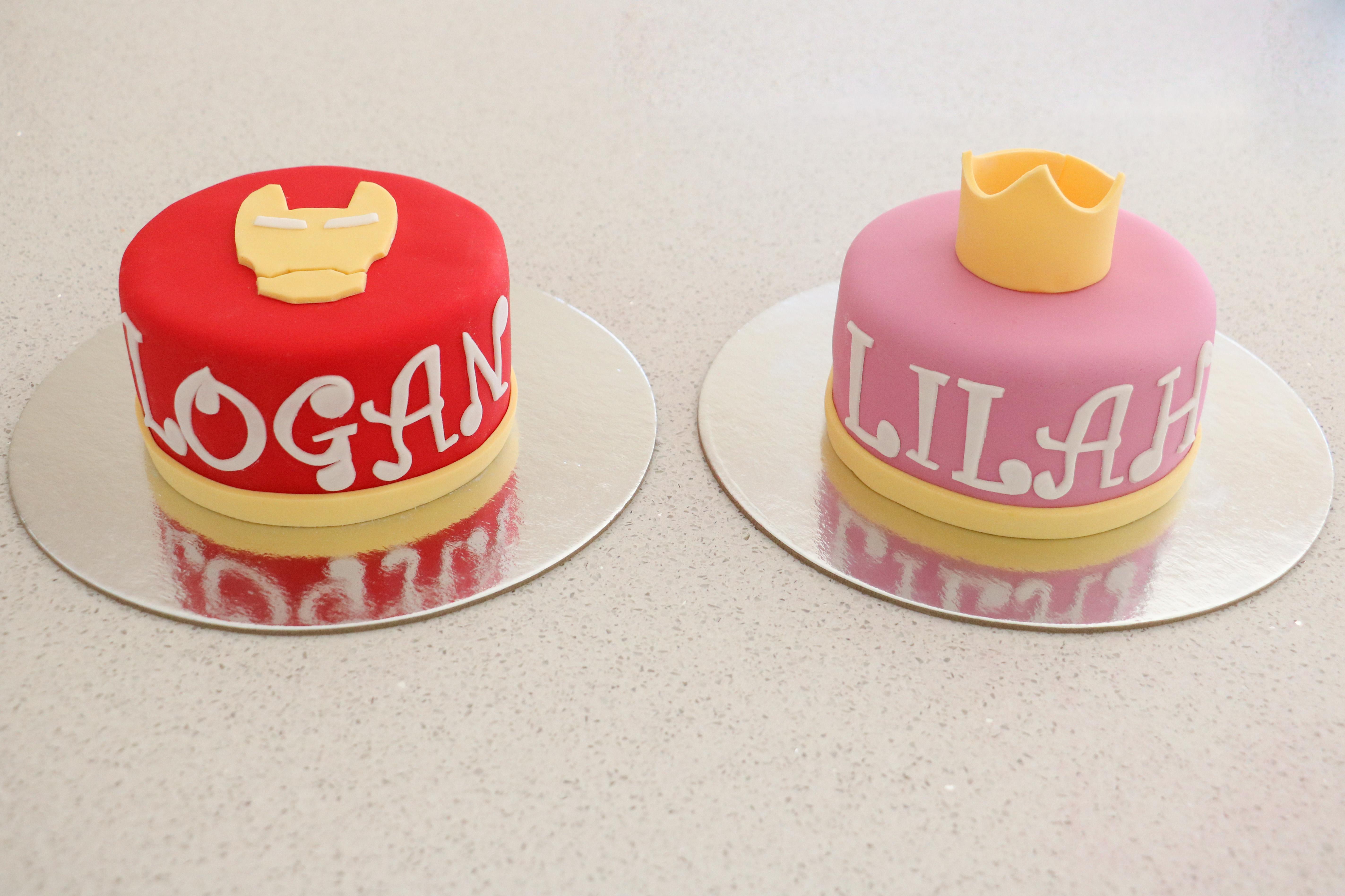 Twins' Mini Cakes