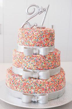 100s & 1000s Birthday Cake