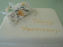 50th Wedding Anniversary Fruit Cake