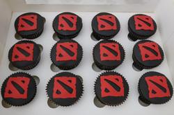 Dota 2 Cupcakes