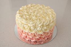 Hombre Rosette Cake