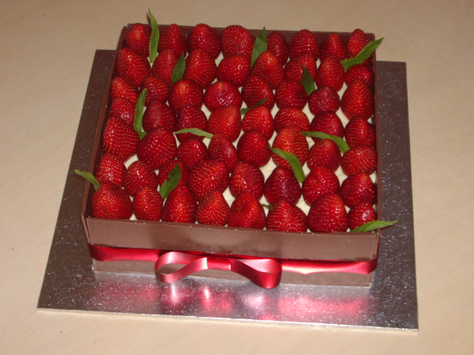 Strawberry Mousse Box