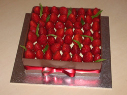 Strawberry Mousse Box