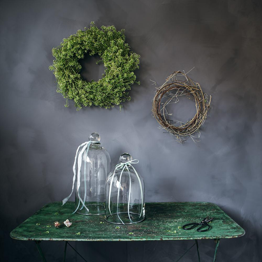 Spring wreath diy tutorial