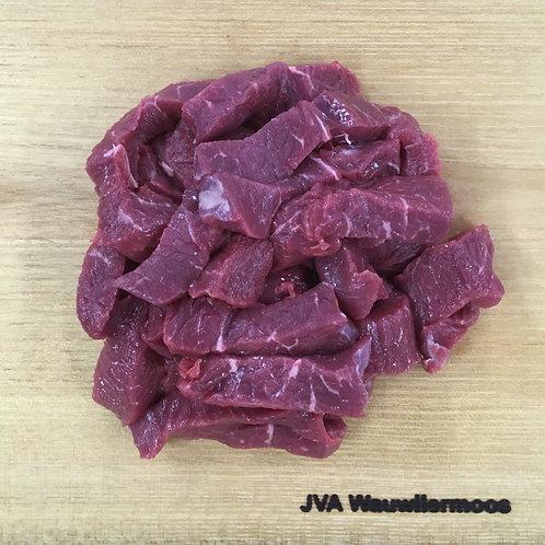 Rindfleisch für Stroganoff