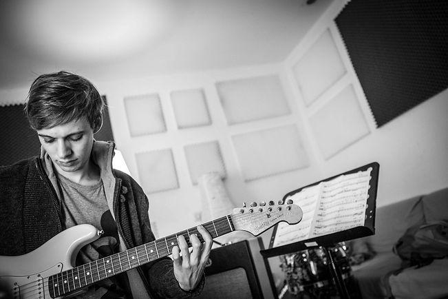 Jan David Gitarrenunterricht Mannheim